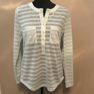 ANN TAYLOR shirt / top, NWOT, Size small!
